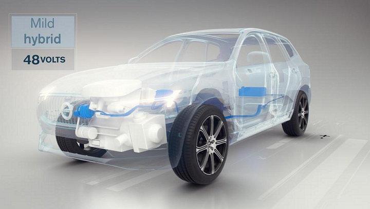 Volvo Cars - Vehículo con motor eléctrico (Semihíbrido)