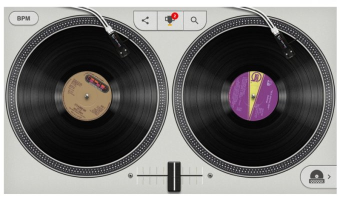 Google Doodle - Hip Hop