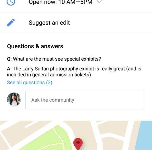 Google Maps - Preguntas y Respuestas