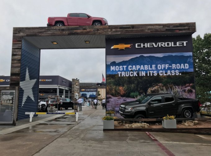 Chevrolet en la Feria del Estado de Texas