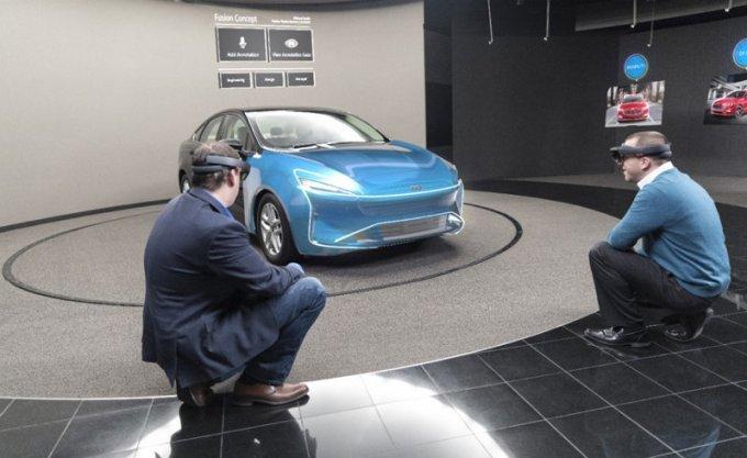 Ford - Microsoft HoloLens - Realidad Mixta