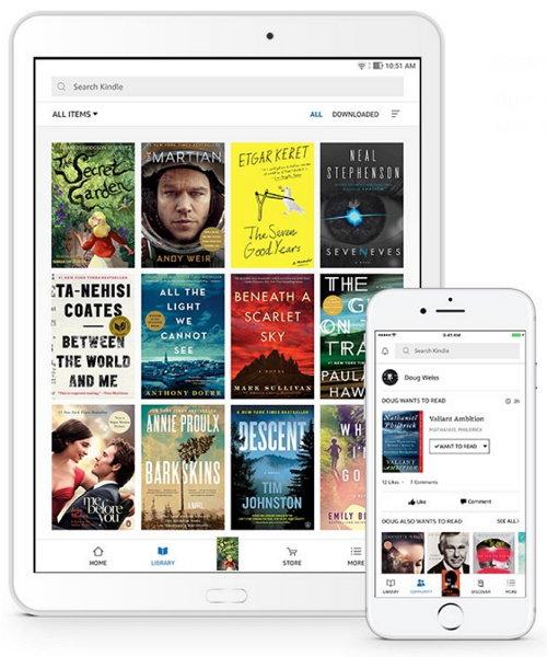 Aplicación Amazon Kindle