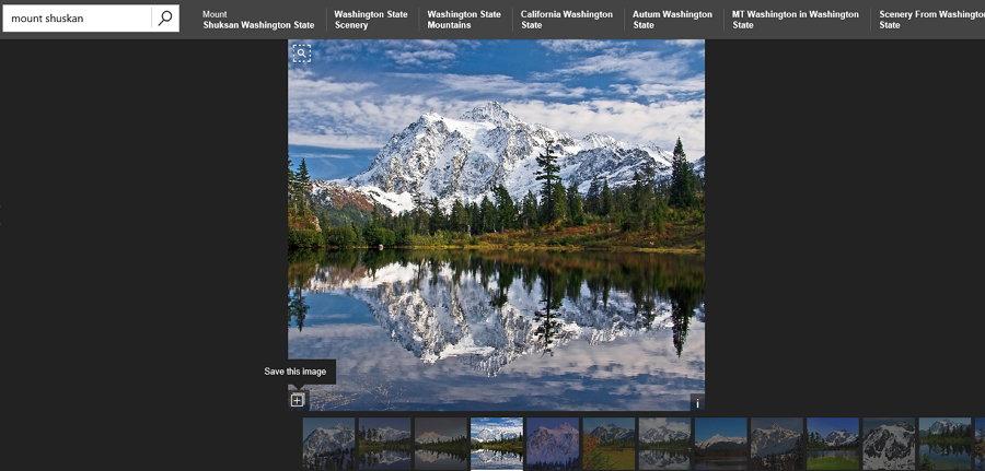 Bing - My saves