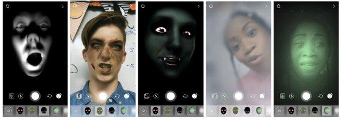 Instagram - Filtros para Caras de Halloween