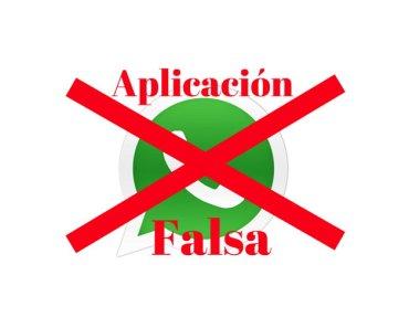 Aplicación WhatsApp Falsa