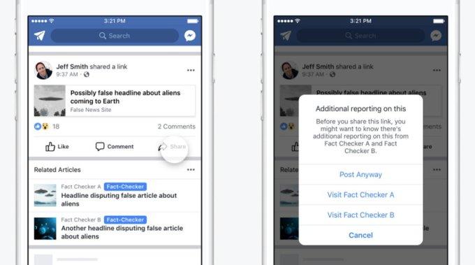 Facebook - Noticia Falsa - Artículos Relacionados