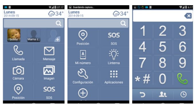 Necta Launcher - Android - Abuelos
