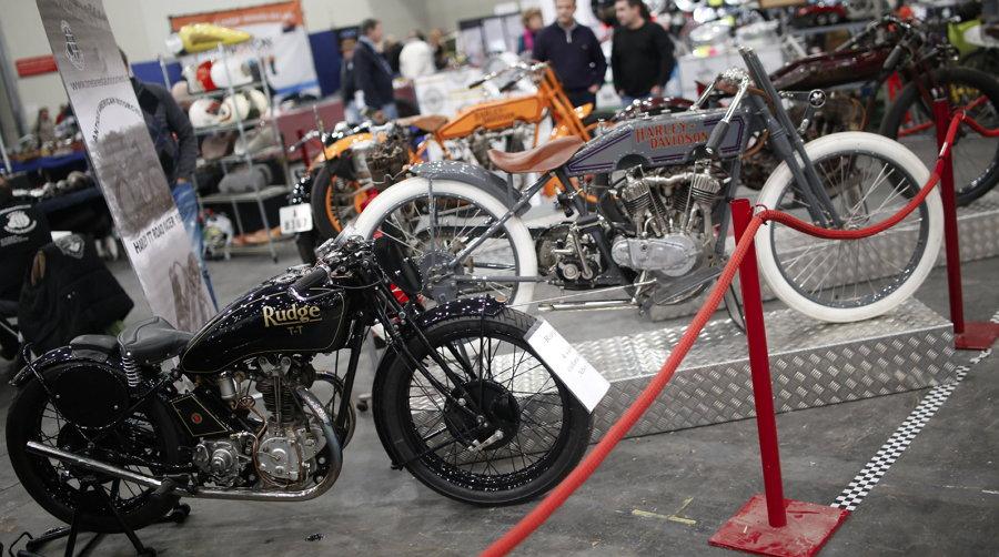 Retromóvil Madrid 2017 - Rudge - Harley Davidson
