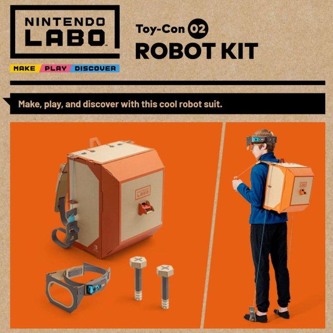 Nintendo Labo - Robo Kit