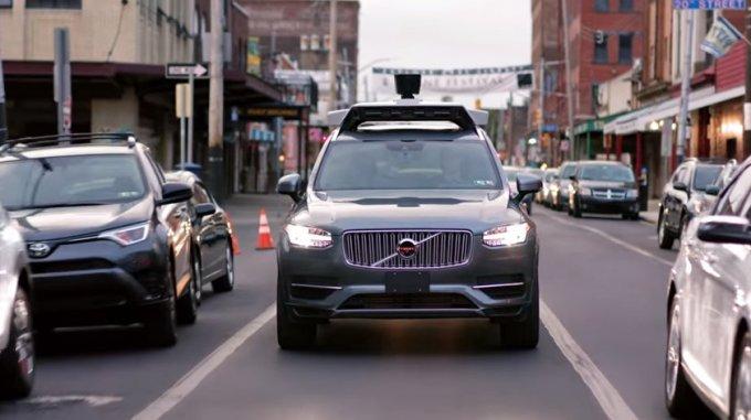 Uber - Vehículos Autónomos - Volvo XC-90