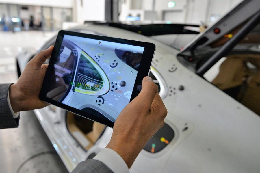 Porsche AG - Realidad Aumentada - Control de Calidad