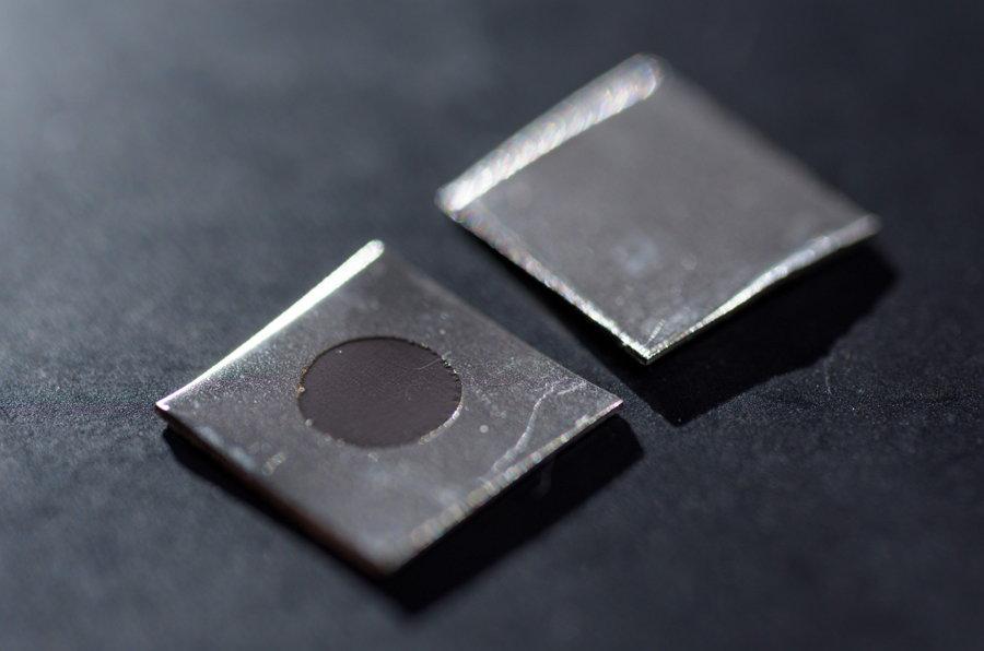 Superficie nano texturada - acero inoxidable - bacterias