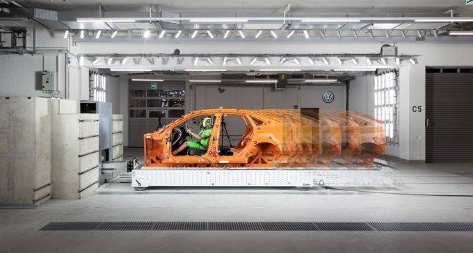 Nuevo Centro de Pruebas de Choque de Volkswagen