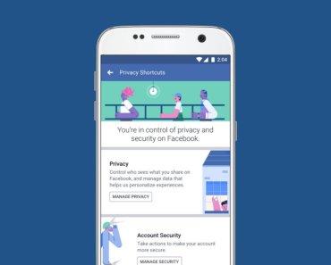 Facebook Controles de Privacidad