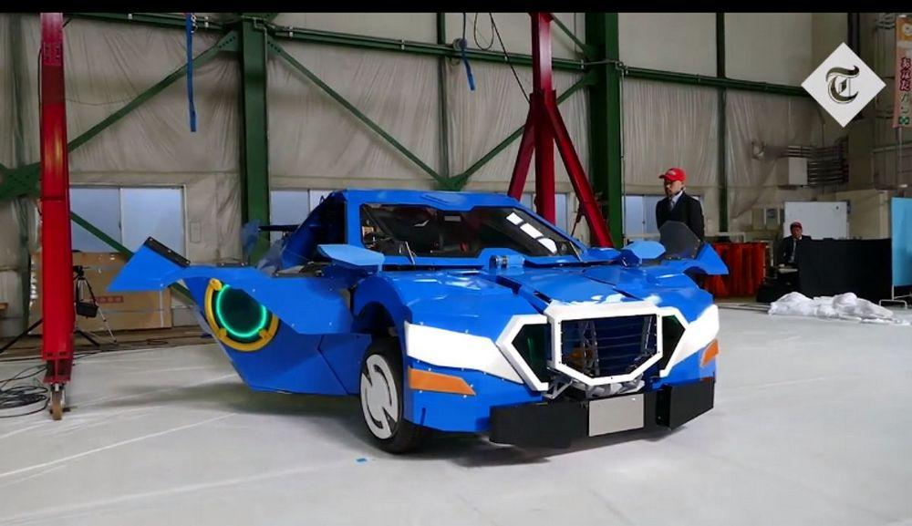 El sueño del pibe: presentaron un verdadero transformers en Japón