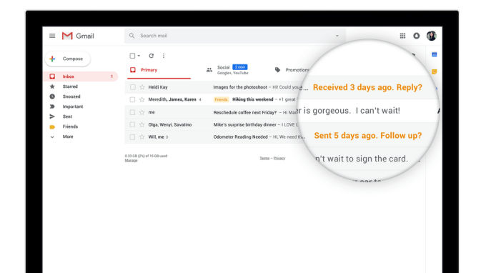 Gmail - Nudge