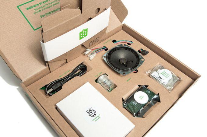 Google AIY Kits - Voz