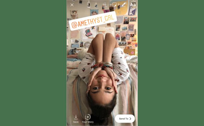 Instagram Menciones