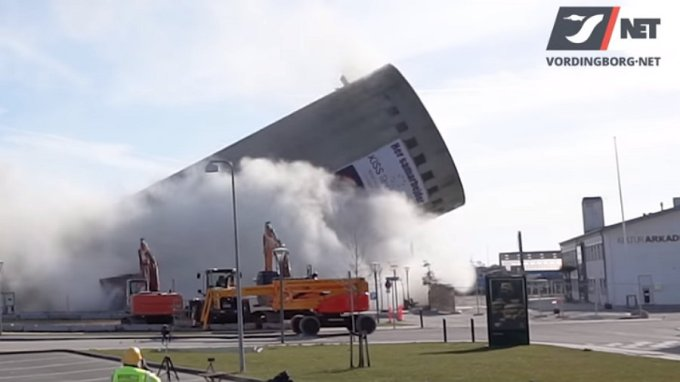 Silo - Demolición - Dinamarca