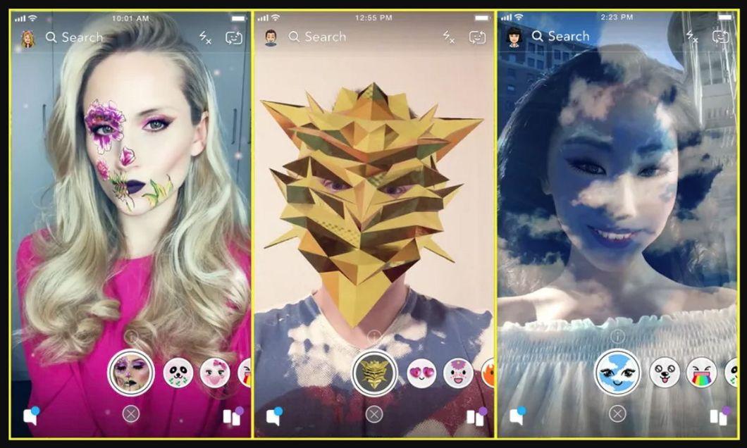 Snapchat - Lens Studio