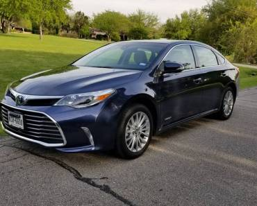 2018 Toyota Avalon Limited Híbrido