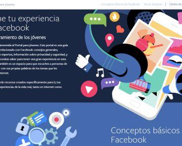 Facebook Portal para Jóvenes