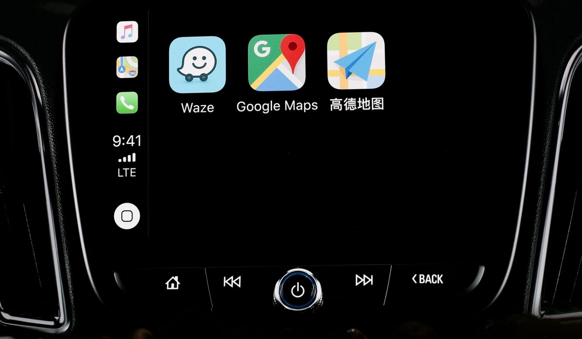 apple carplay incluir waze y google maps chrome gear mx. Black Bedroom Furniture Sets. Home Design Ideas