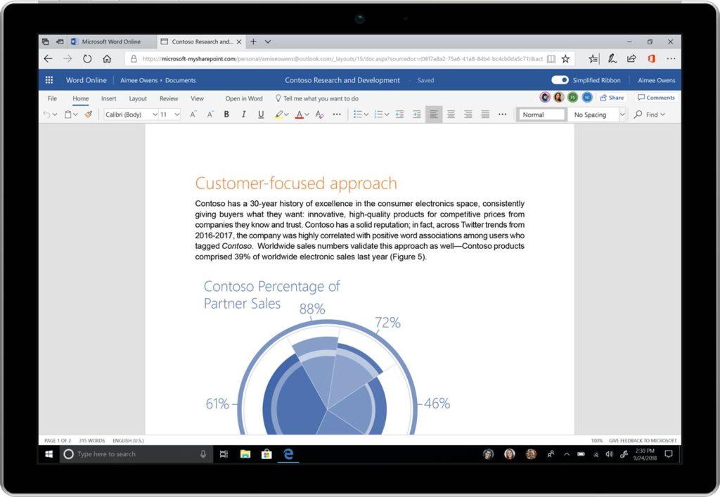 Microsoft Office - Nueva Cinta Simplificada