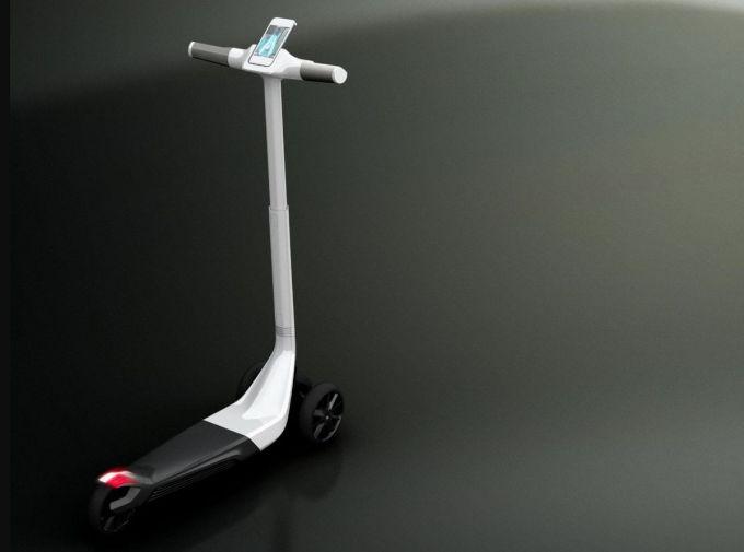 Peugeot Design Lab - Concepto Peugeot Electric Scooter