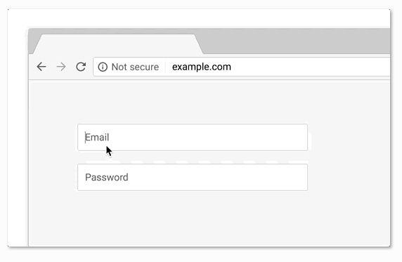 Chrome Sitios No Seguros