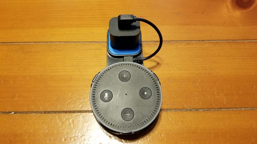 Outlet Wall Mount para Echo Dot