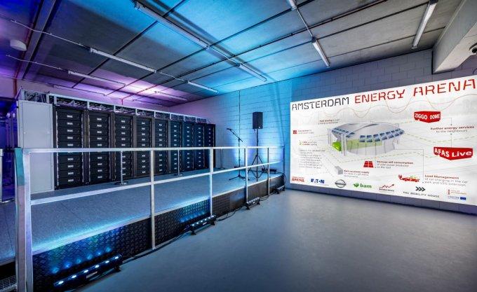 Estadio de Fútbol Johan Cruyff ArenA - Sistema de Almacenamiento Energético