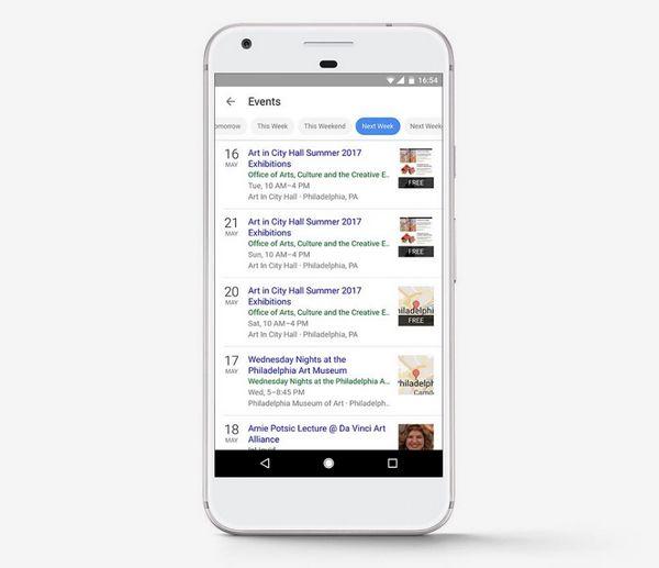 Google - Eventos