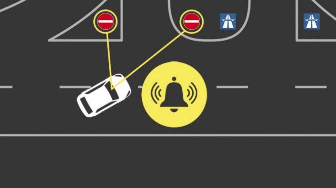Sistema de Alerta de Dirección Contraria - Ford Europa