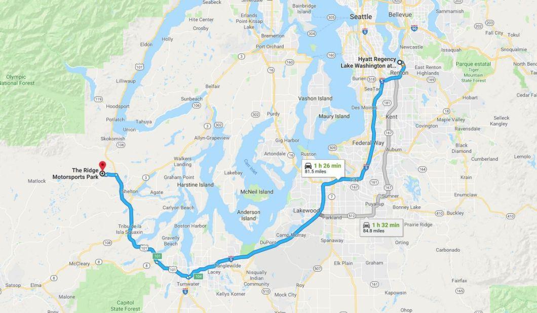 Chevrolet August 2018 - Seattle - Ridge Motorsports Park