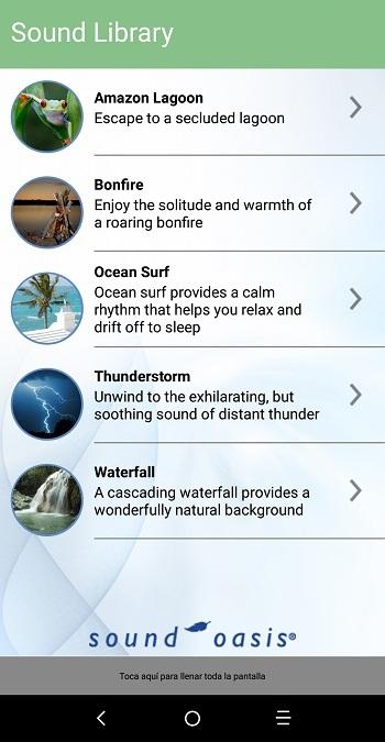 Sound Oasis - Sonidos de la Naturaleza para Dormir