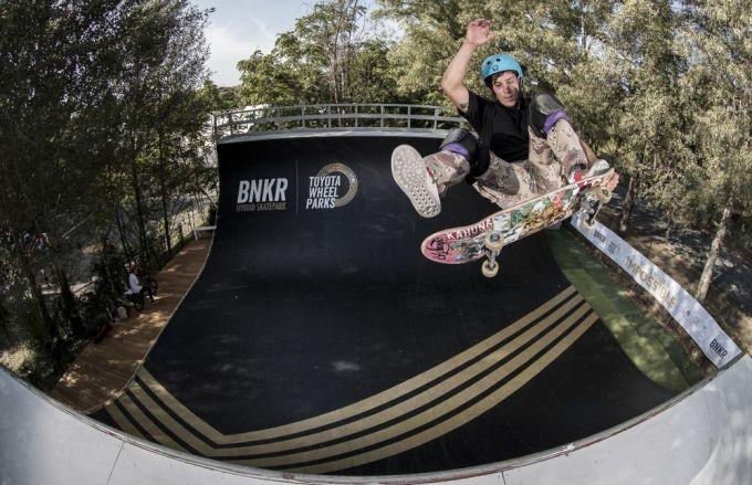 Toyota Wheel Parks - Skateboarding