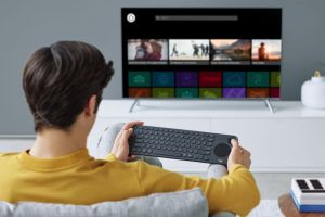 Teclado Logitech K600 Smart TV
