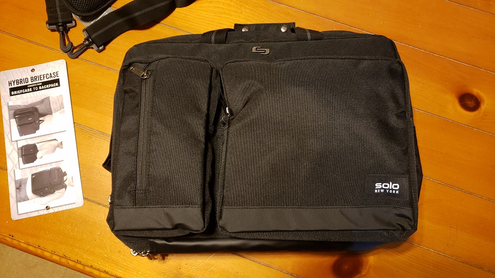 Duane Hybrid Backpack Briefcase