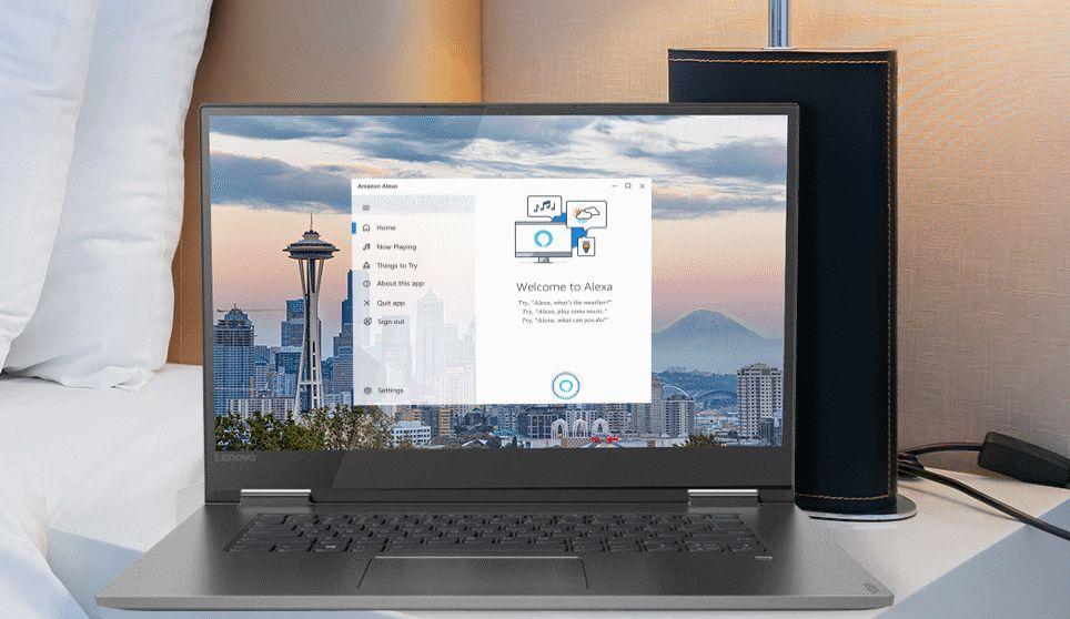 Amazon Alexa para PC Windows 10