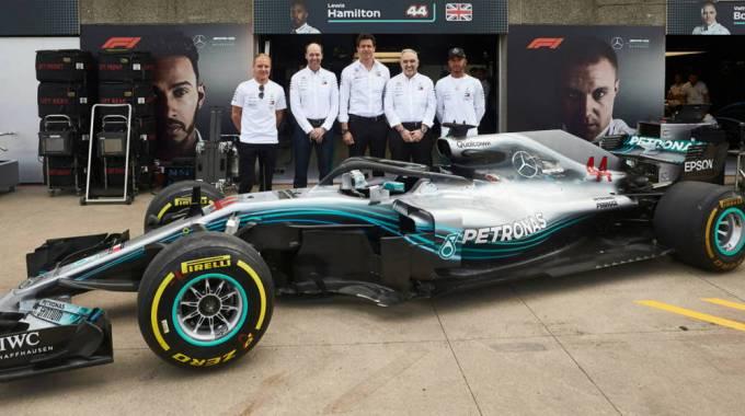 Mercedes F1 - HPE - Antonio Neri