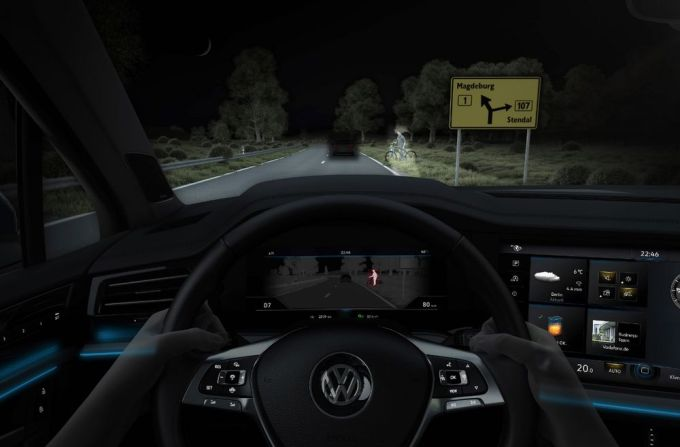 Volkswagen Touareg - Faros iQ.Light