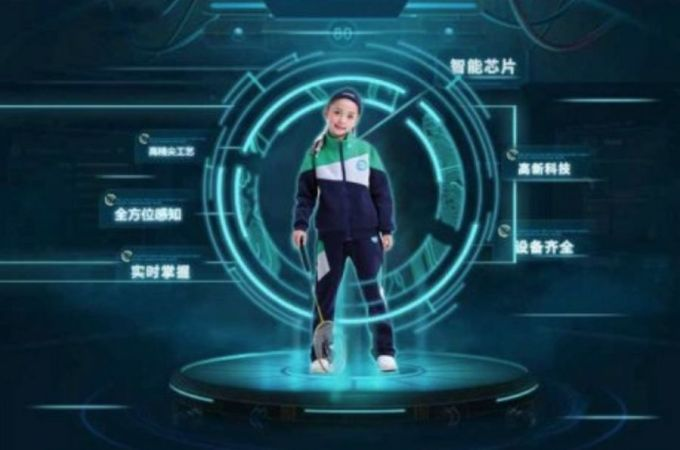 Escuelas Chinas - Uniformes con GPS