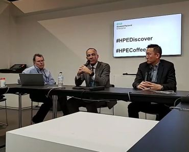 HPE Discover 2018 Madrid - Ric Lewis - Wayland Jeong - HPE Composable Cloud