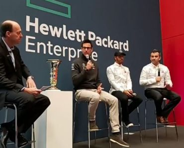 HPE Discover 2018 Madrid - HPE and Mercedes AMG Petronas - Lewis Hamilton - Toto Wolff - Matt Harris