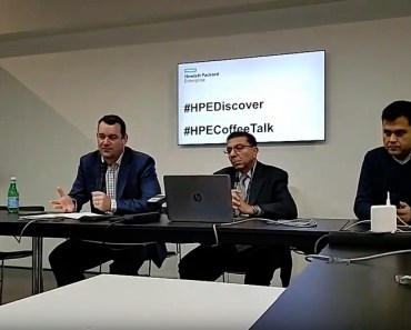 HPE Discover 2018 - Madrid - Almacenamiento Inteligente