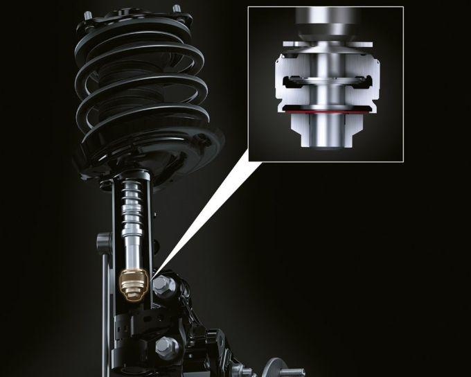 Lexus ES 300h - Suspensión - Amortiguadores