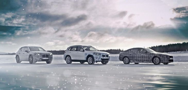 BMW i4, BMW iNext y el BMW iX3