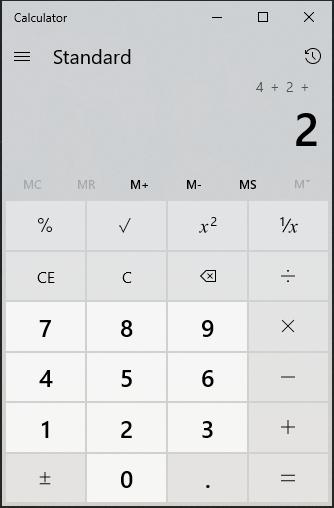 Calculadora de Windows - Microsoft