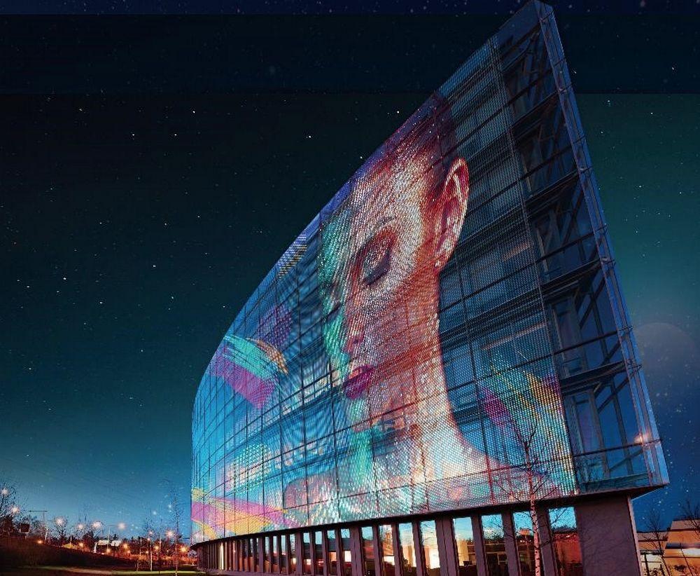 LG Colour Transparent LED Film